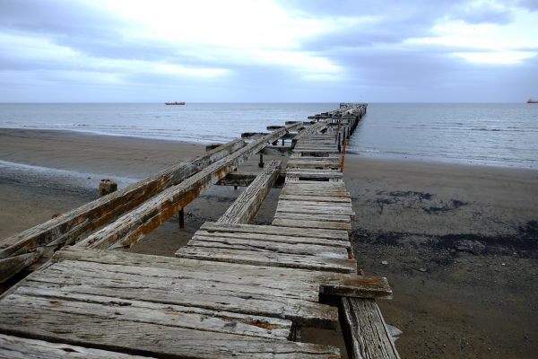 En fin de journée à Punta Arenas