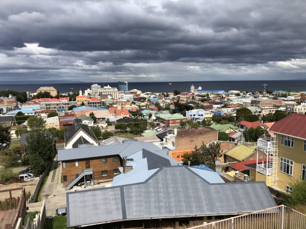 Punta Arenas dans le sud du Chili