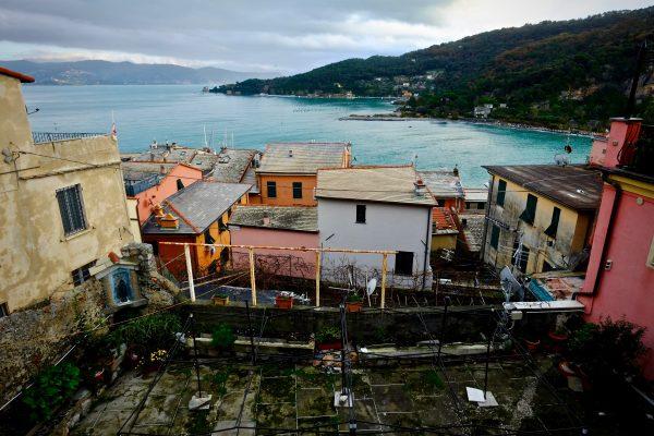 Le village vue des hauteurs