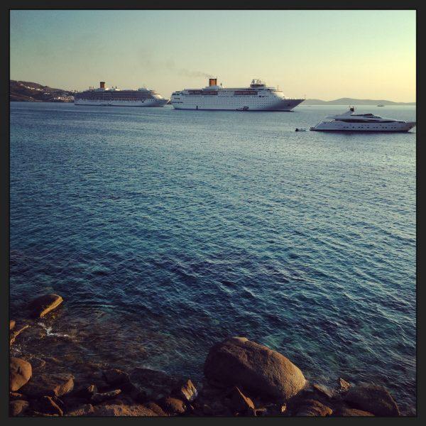Mykonos l'une des villes les plus agréables de Grèce