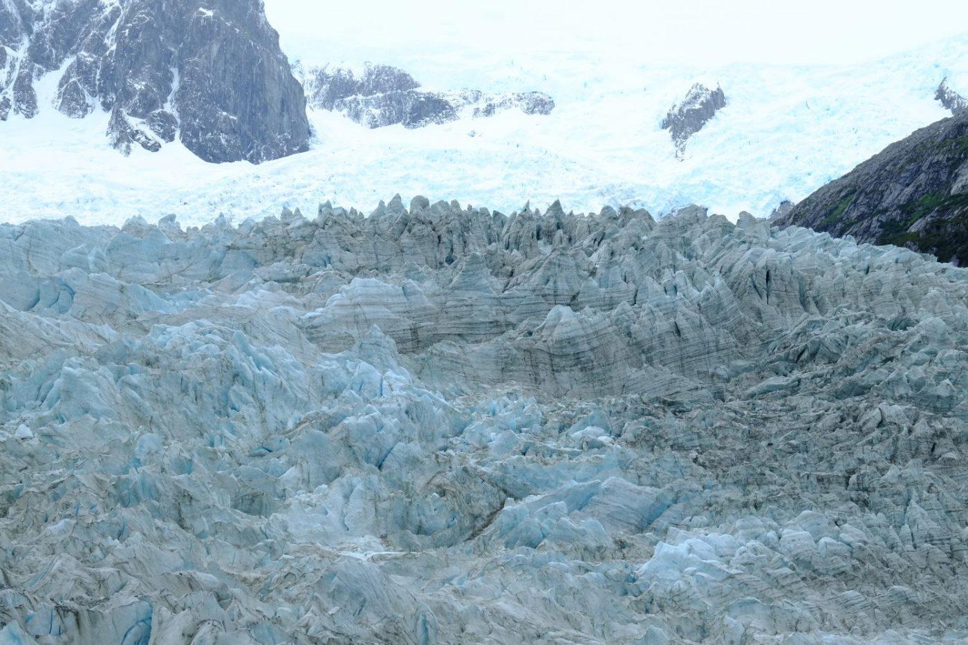 La Patagonie et le glacier Pia