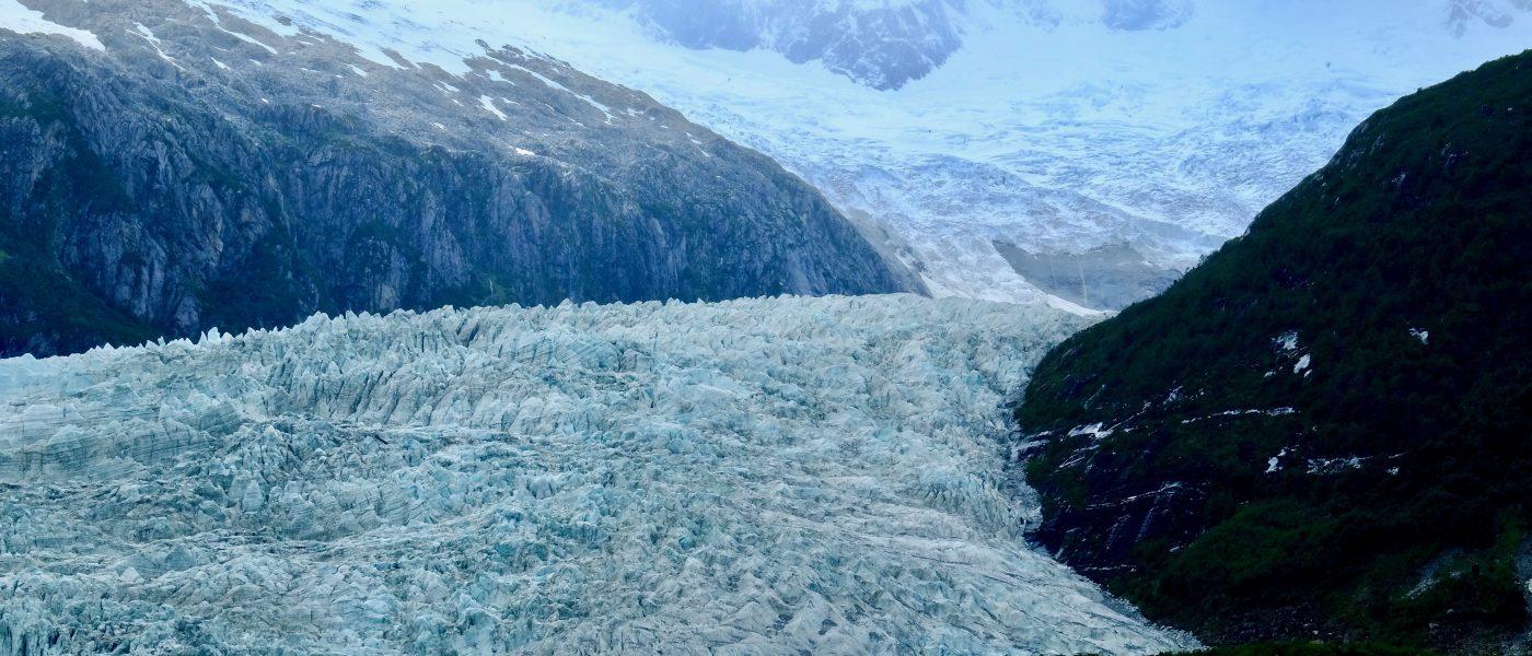Un splendide glacier en Patagonie