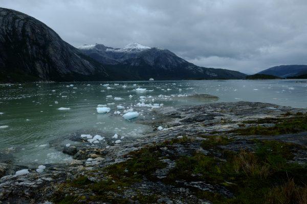 Le fjord où se trouve le glacier Pia