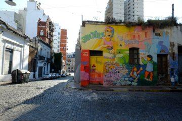 San Telmo un quartier riche en couleurs