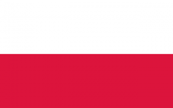 Le drapeau de la Pologne