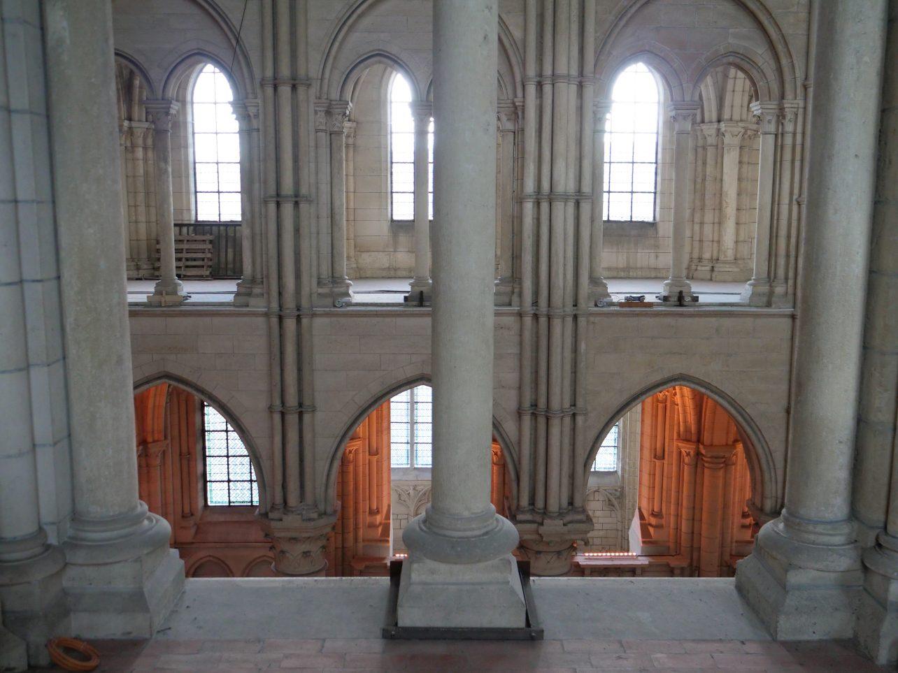 L'intérieur de la cathédrale de Laon