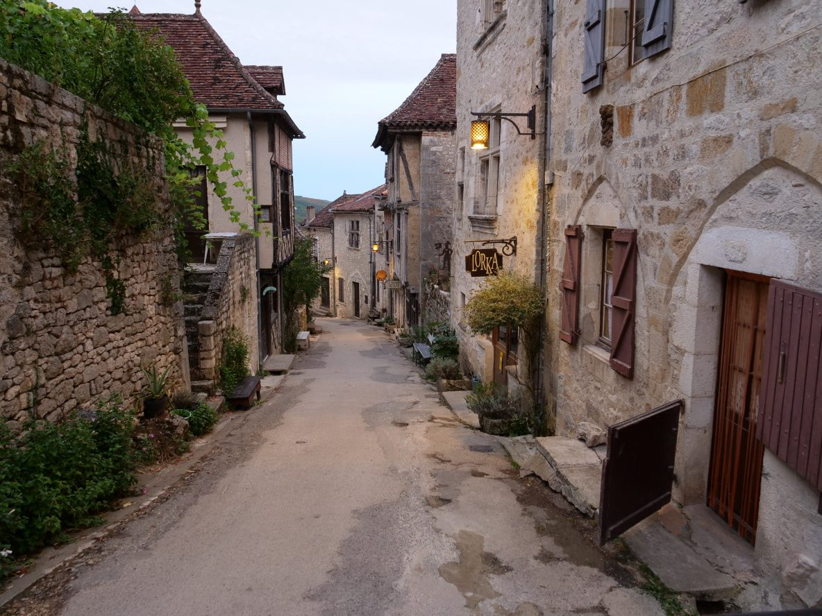 Saint Cirq Lapopie, l'un des plus beaux villages de Lot