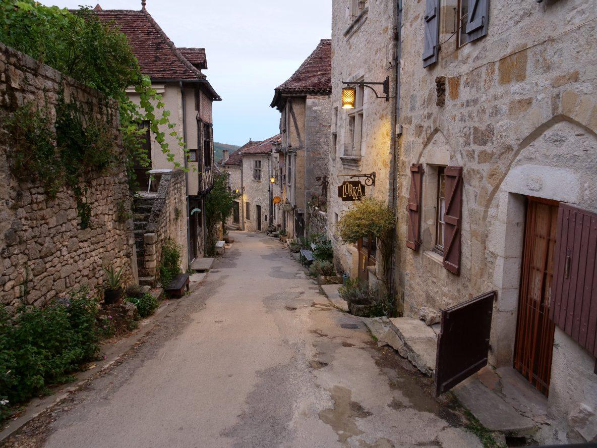 Saint Cirq Lapopie, l'un des plus beaux villages de Lot