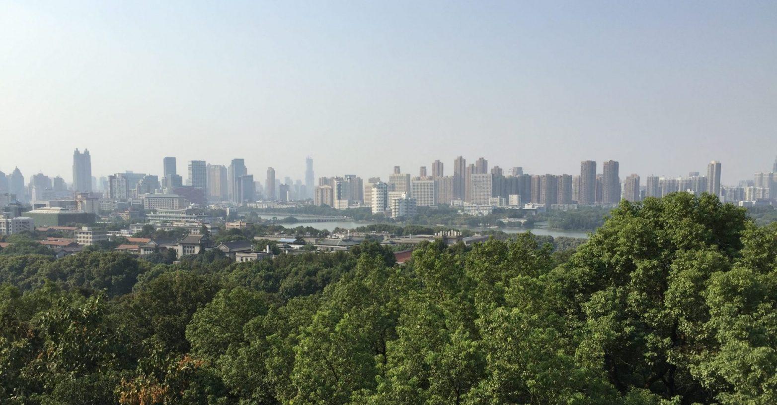 La belle ville de Wuhan en septembre 2016