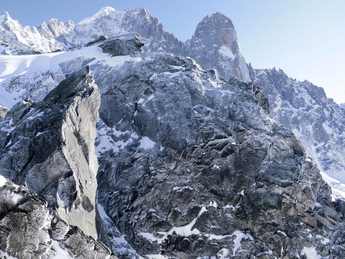 La vue depuis le domaine skiable