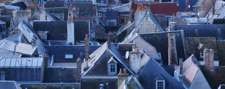 La vue sur les toits depuis la Tour