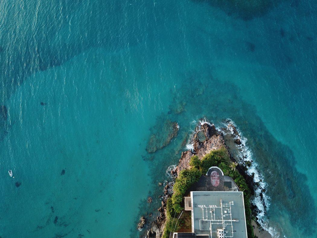Une vue aérienne sur Basse Terre