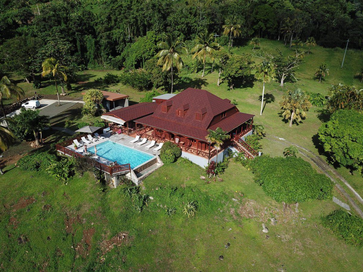 La maison Malanga en Guadeloupe