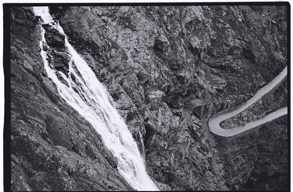 Un lacet de Trollstigen