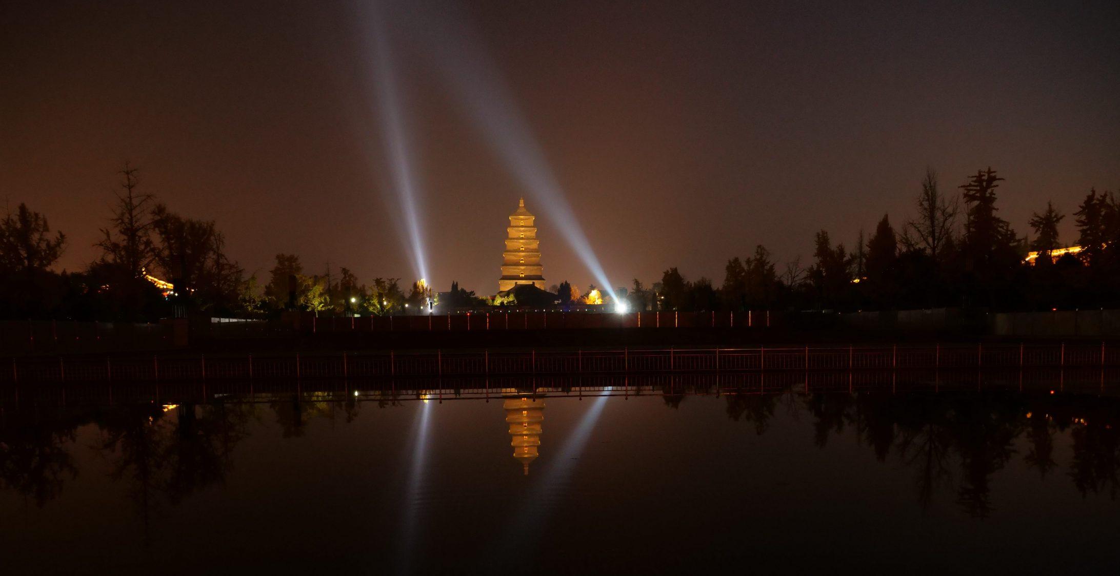 Xian, une grande et belle ville chinoise