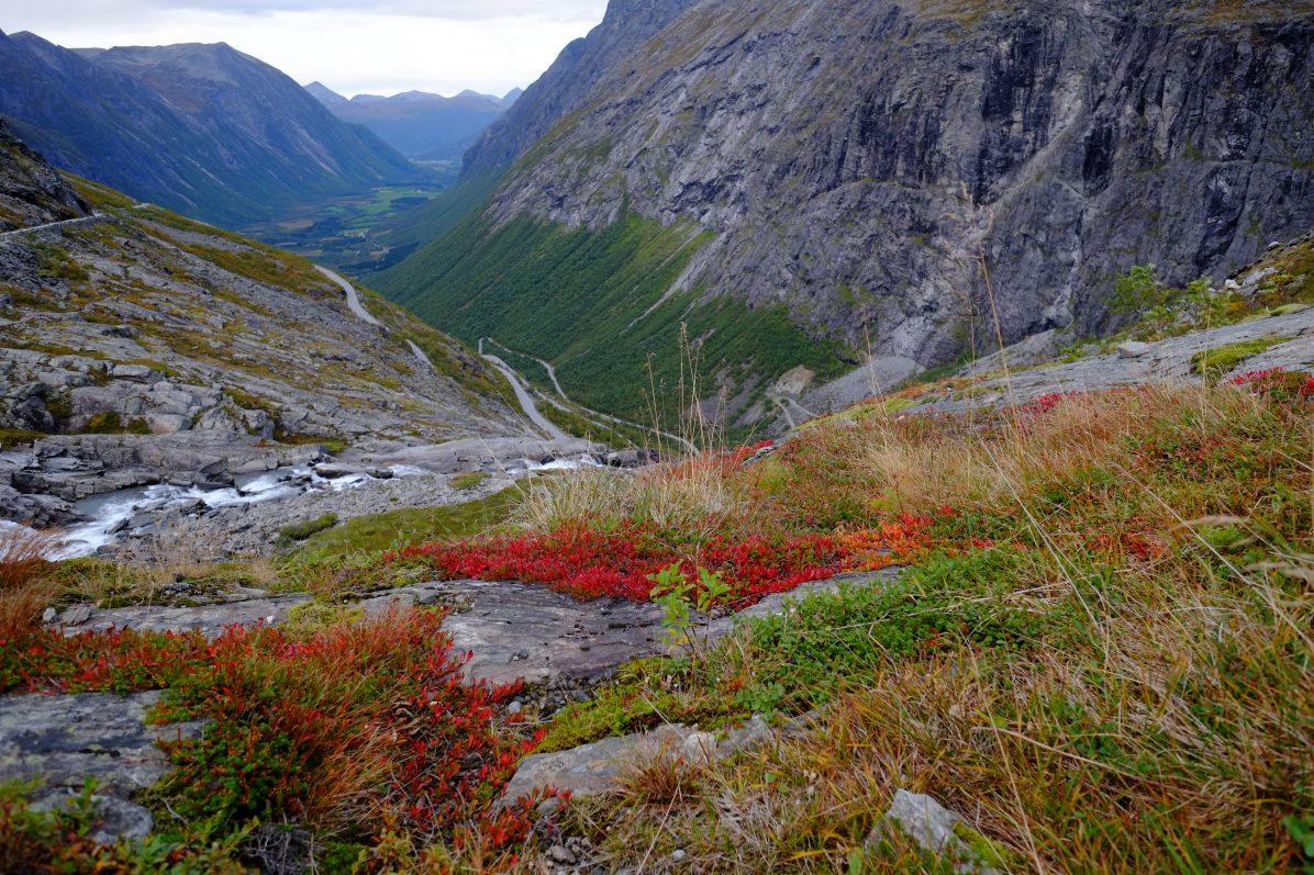 Les jolies couleurs de Trollstigen