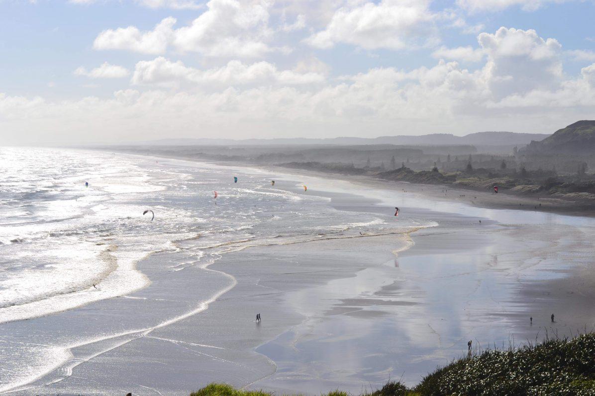 Des plages à perte de vue en Nouvelle-Zélande