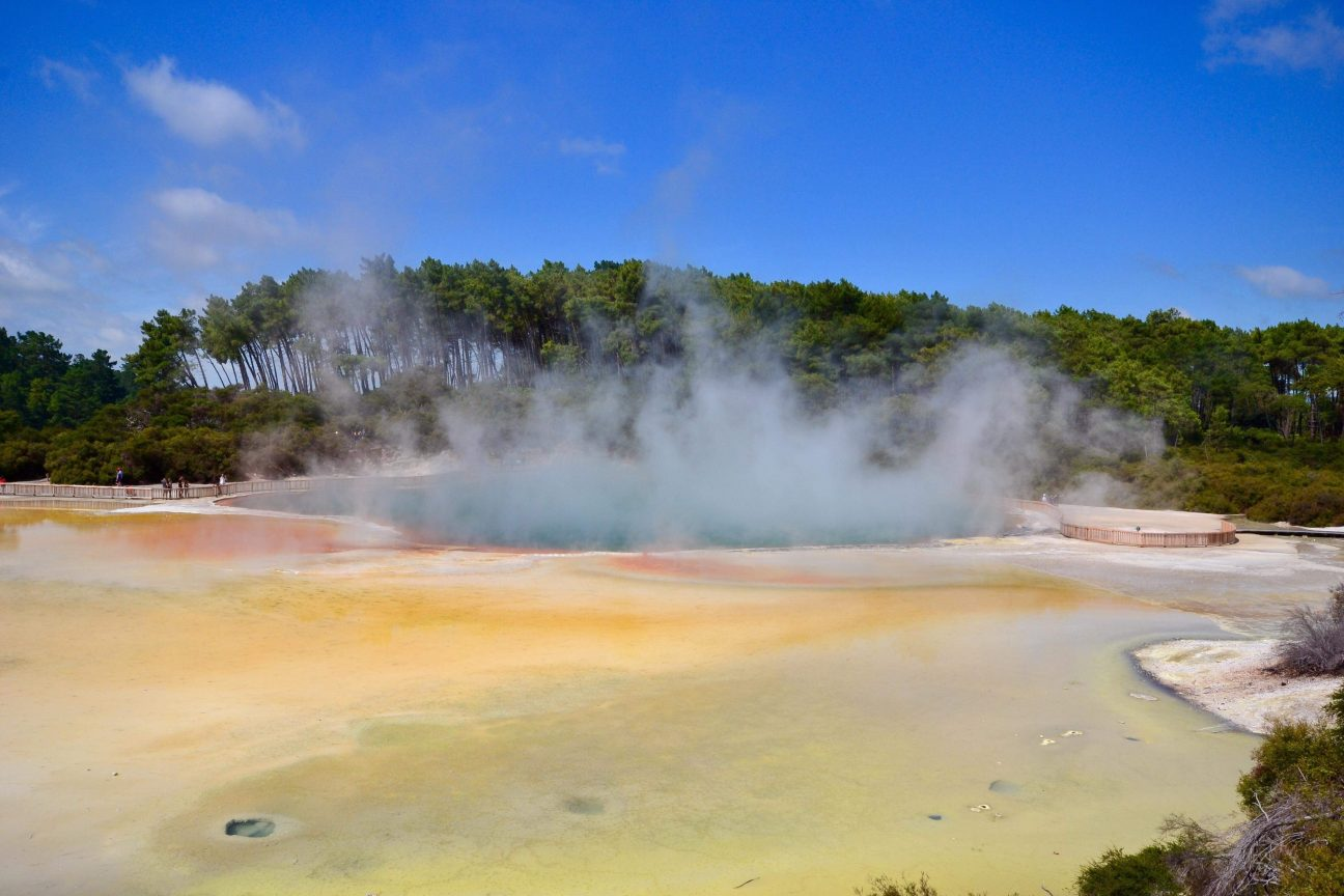 Géothermie en Nouvelle Zélande