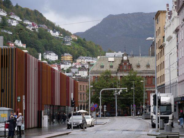 Fisketorget la halle aux poissons de Bergen
