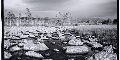 Entre Joomokk et Abisko dans le nord de la Suède