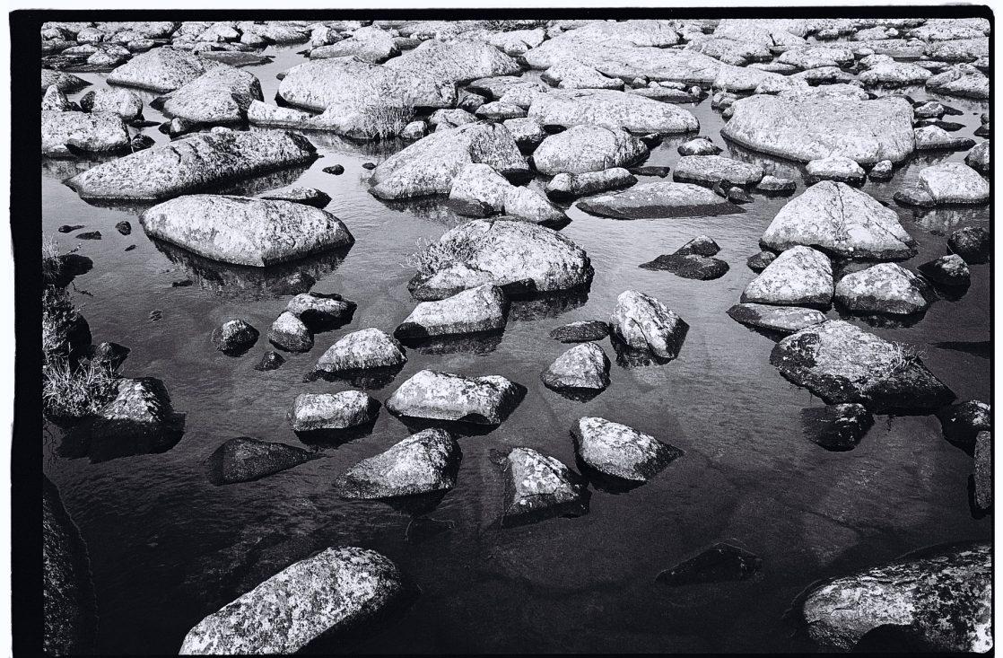 Suède, un souvenir en noir et blanc