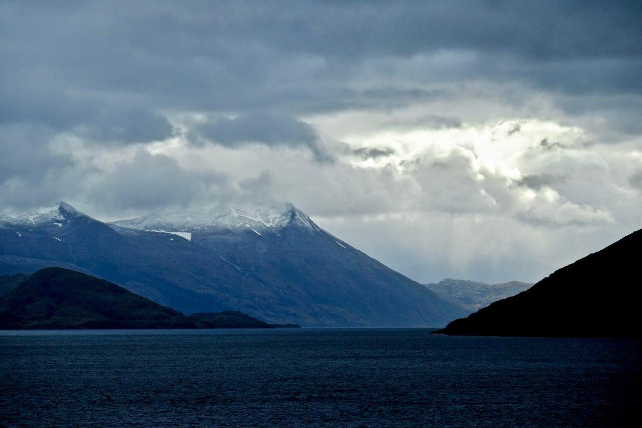 Les paysages du sud du Chili