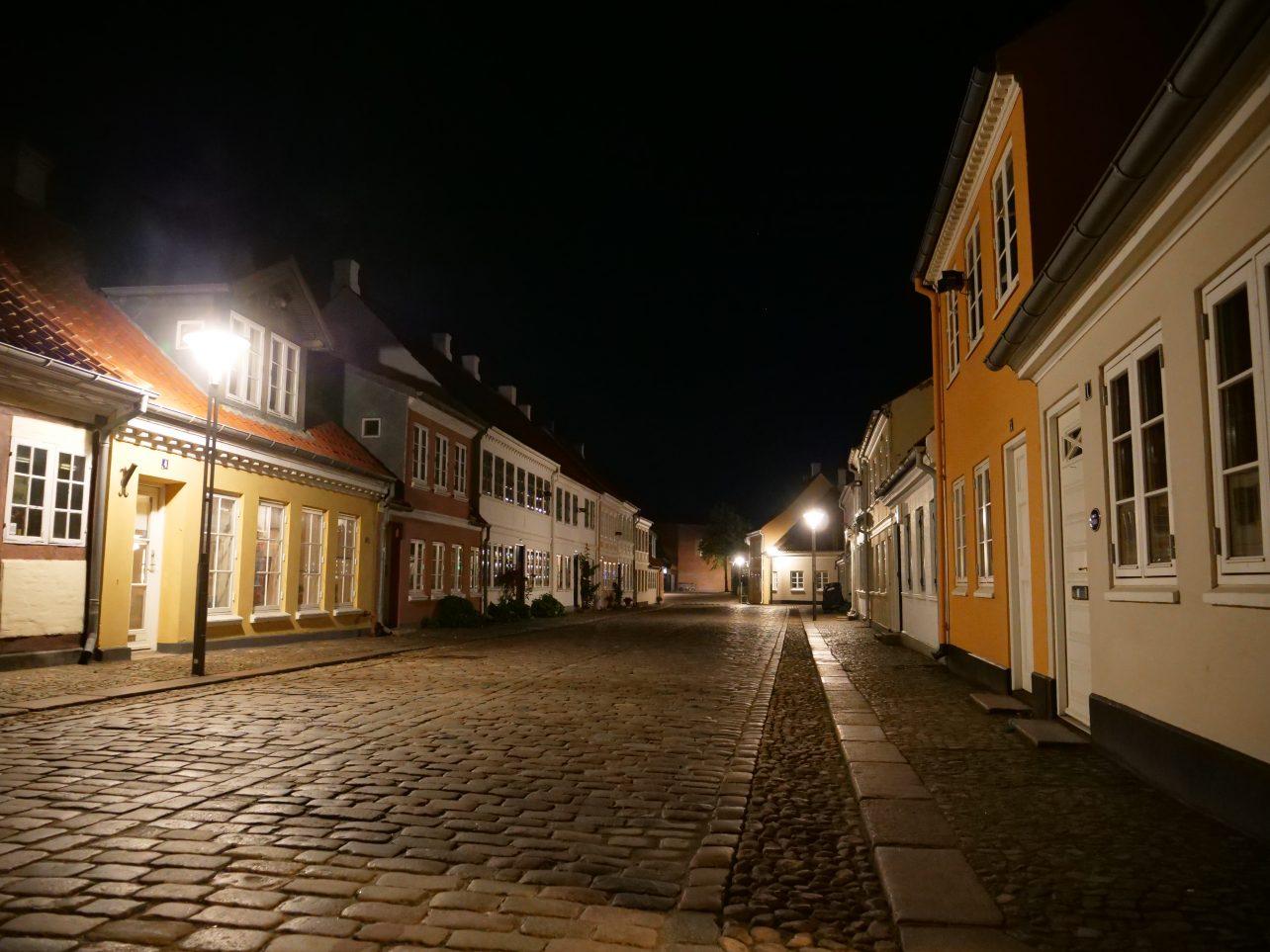 Odense sur l'île de Fionie au Danemark