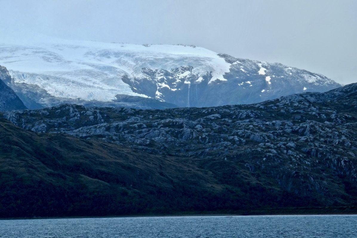 Un glacier dans l'extrême sud du Chili