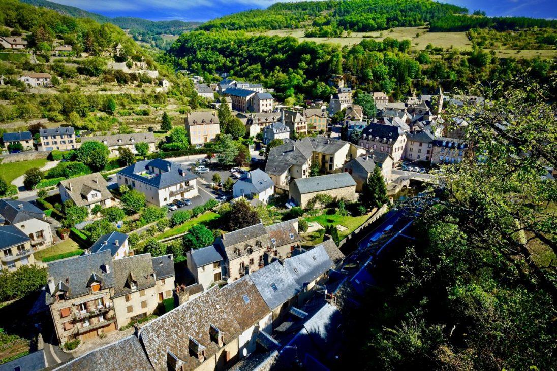 La belle ville de la Canourgue en Lozère