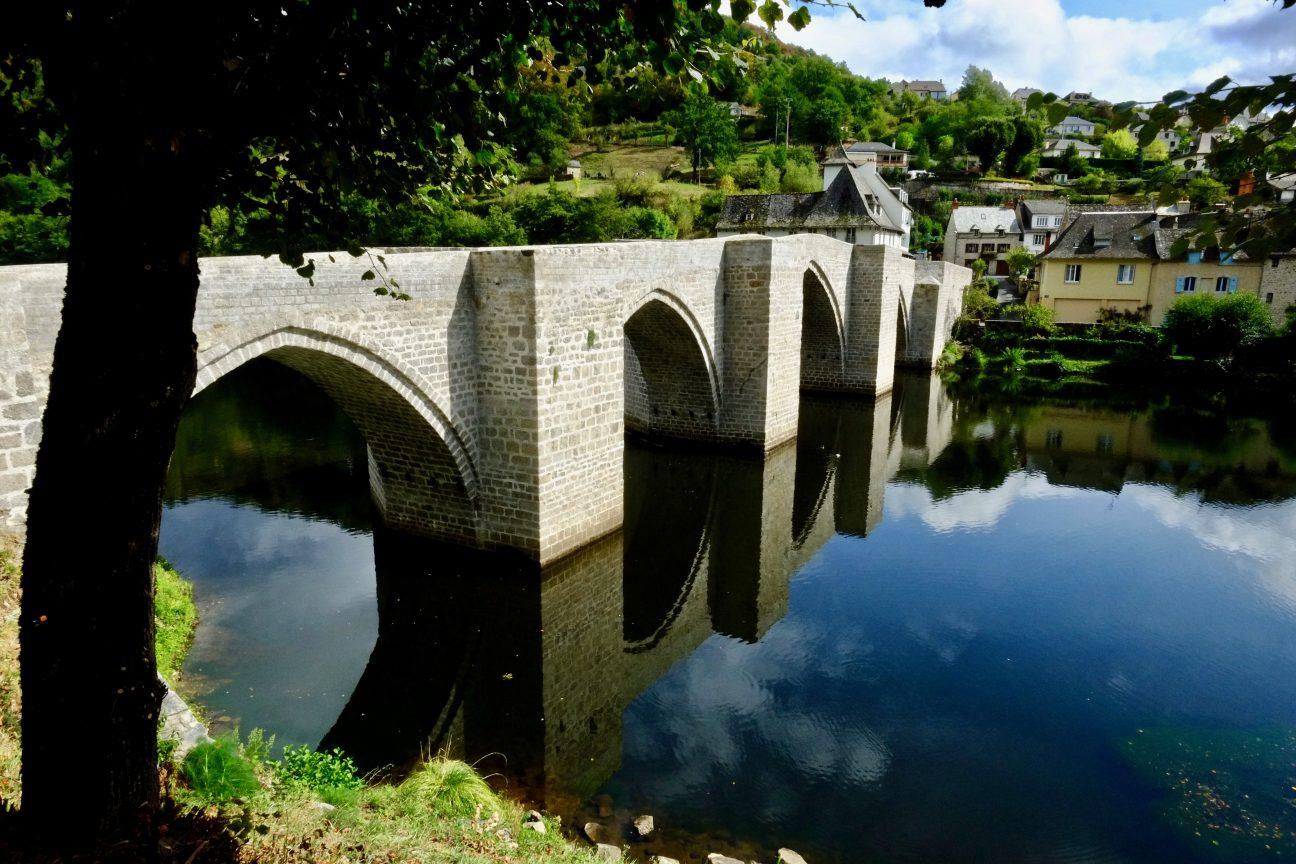 Entraygues sur Truyère un des plus beaux villages d'Aveyron