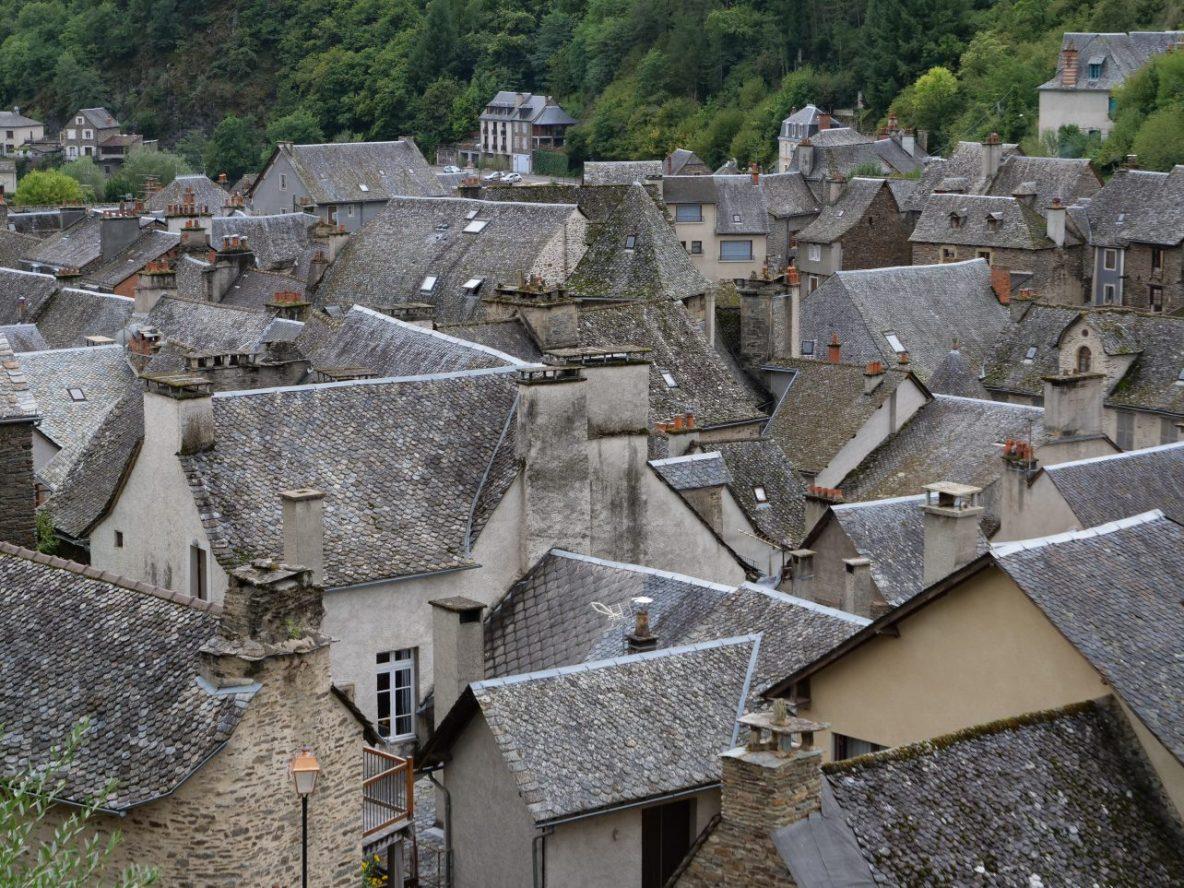 Estaing un petit village d'Aveyron