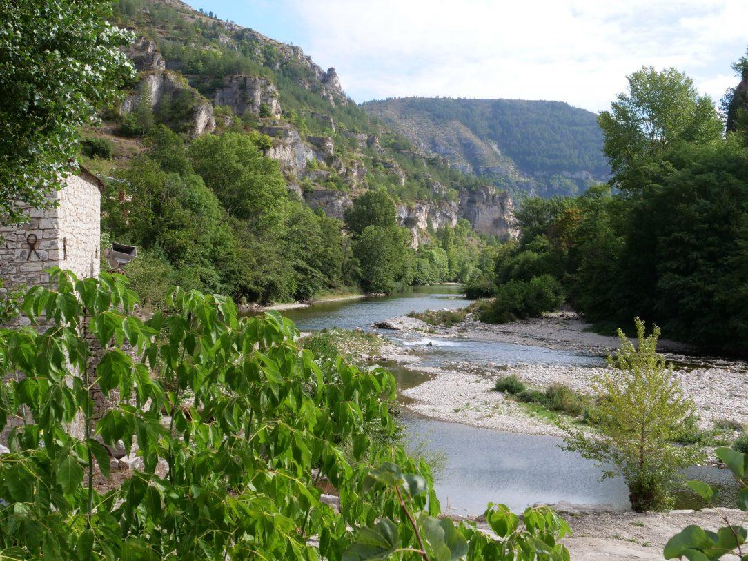 Le Tarn vue depuis Sainte-Enimie