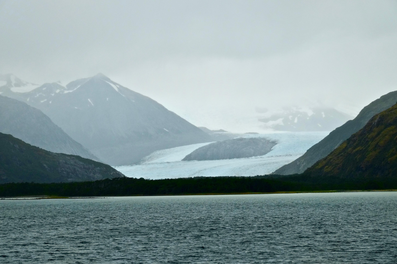 L'avenue des Glaciers au Chili