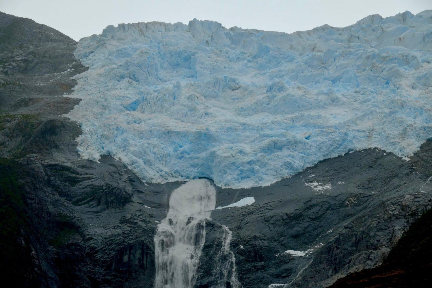 L'avenue des glaciers en Patagonie
