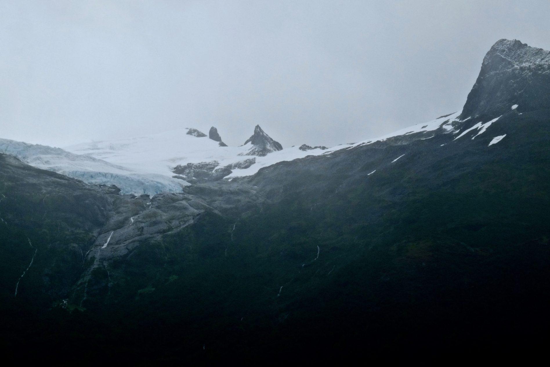 L'avenue des glaciers en Patagonie chilienne