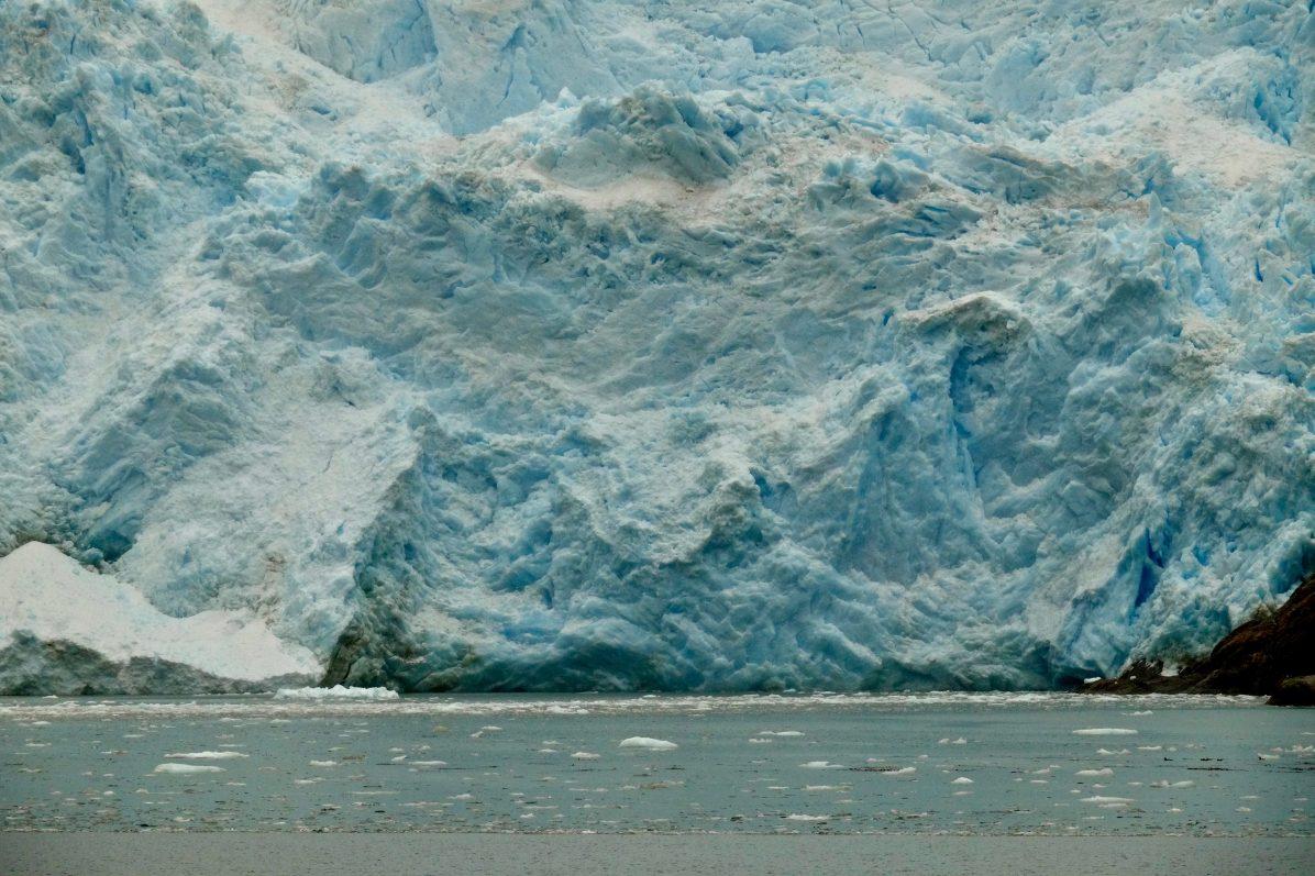 L'avenue des glaciers et le glacier Italie