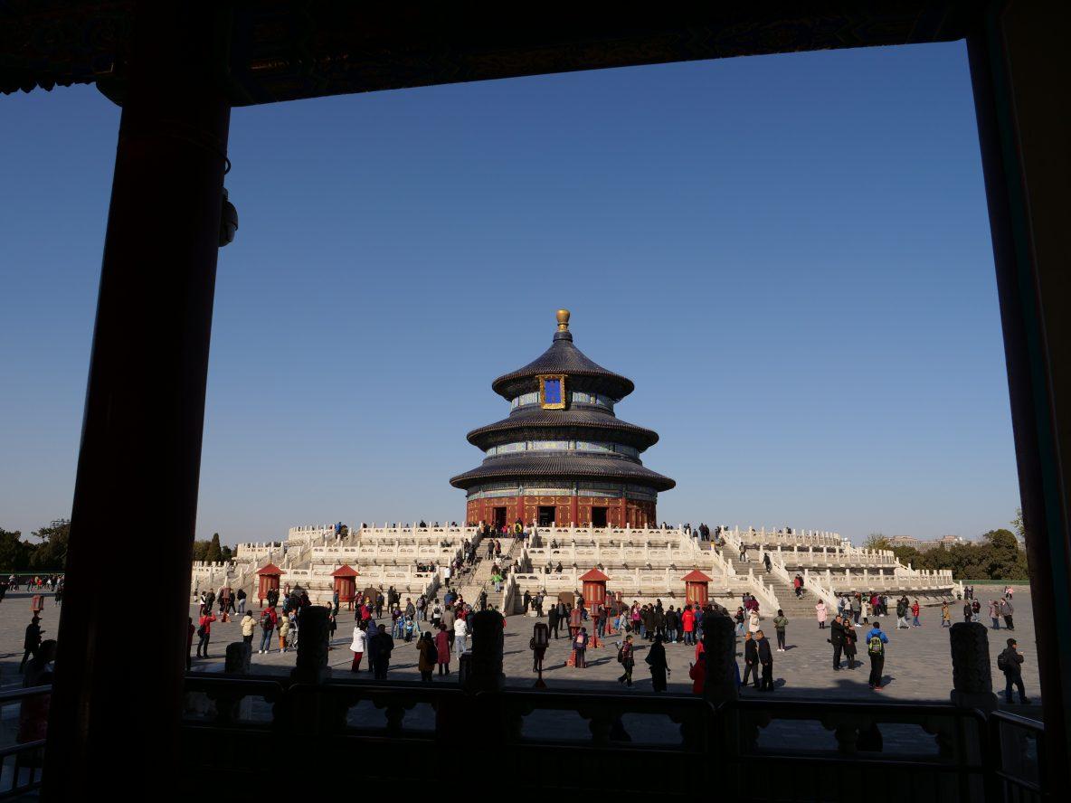 Un joli temple de Pékin