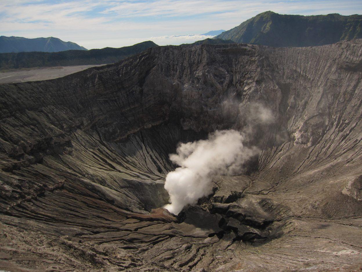 En Indonésie on trouve un très grand nombre de volcans actifs