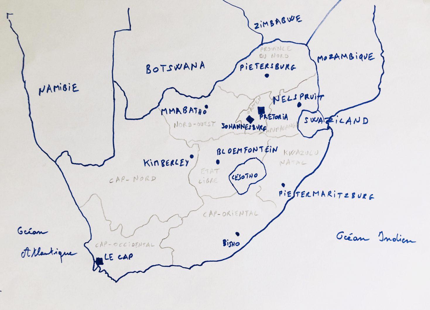 La liste des plus grandes villes d'Afrique du Sud