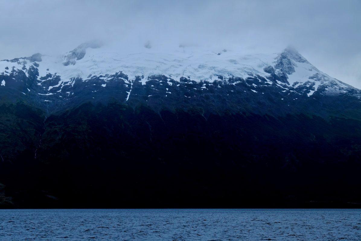 Un glacier en Terre de Feu au Chili