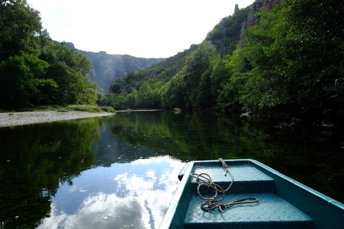 Les gorges du Tarn, méfiez-vous de l'eau qui dort
