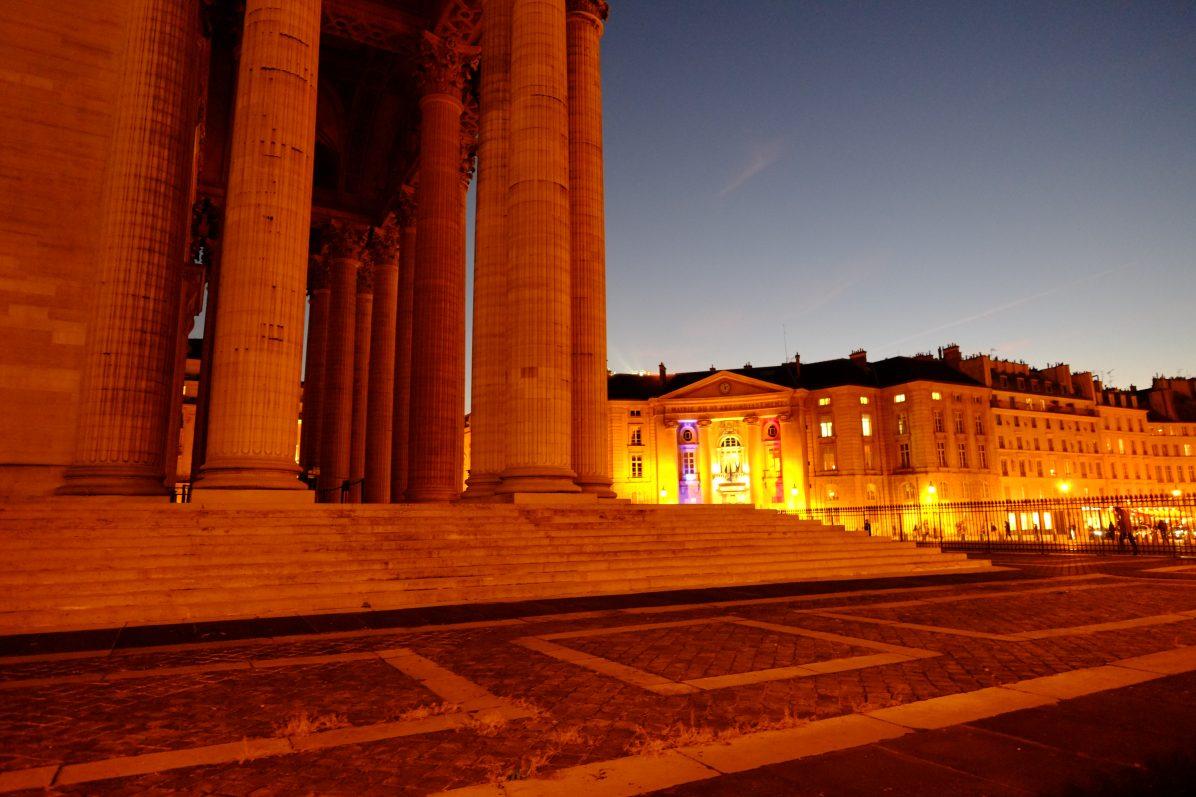 Les colonnes du Panthéon