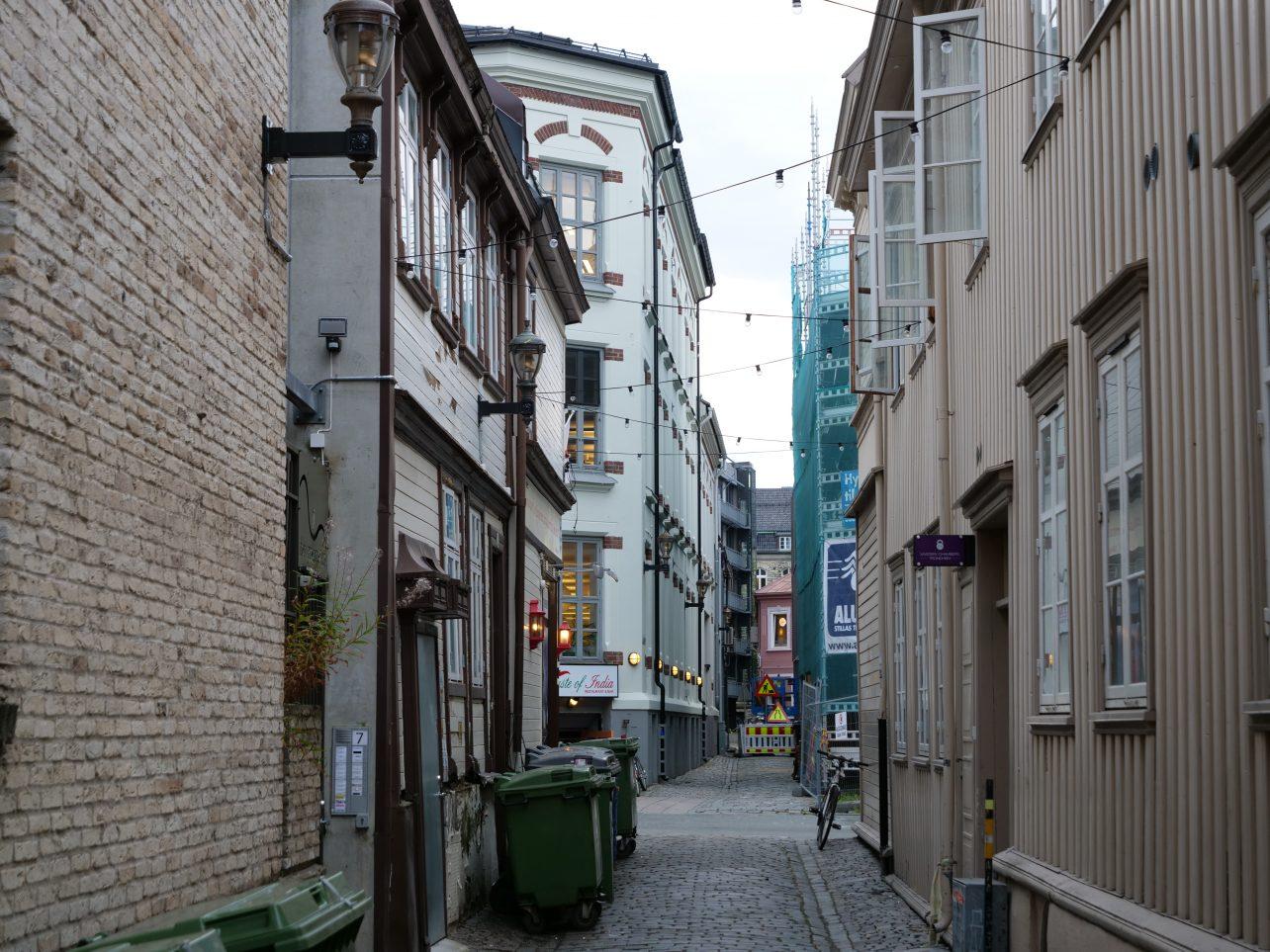 Les maisons de Trondheim