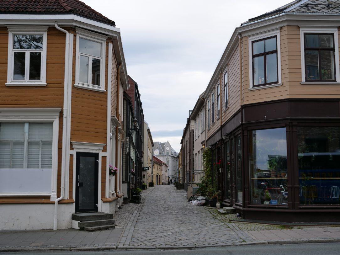 Les maisons en bois de Trondheim