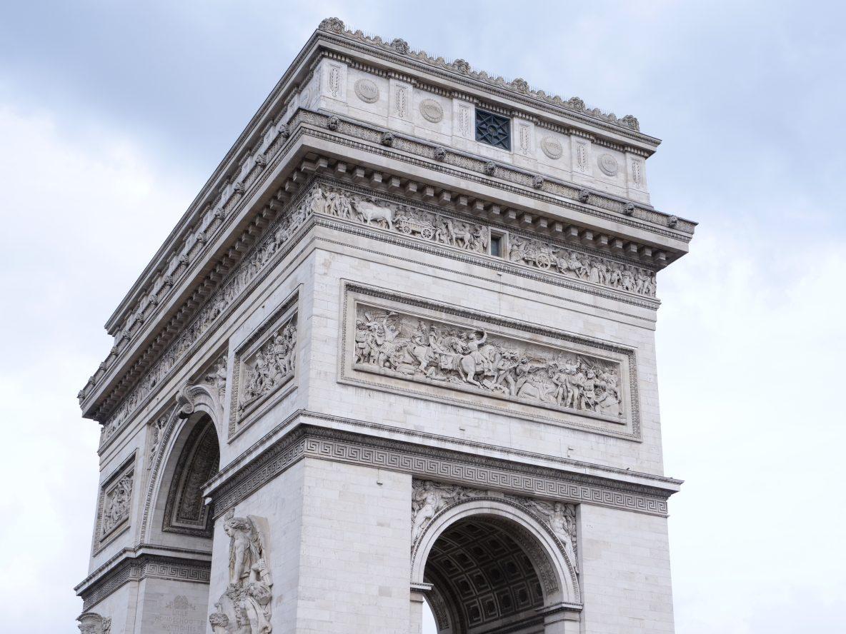 L'Arc de Triomphe l'un des plus beaux monuments de Paris