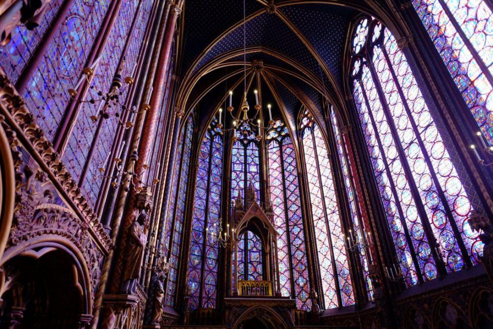 Les vitraux de la Sainte Chapelle