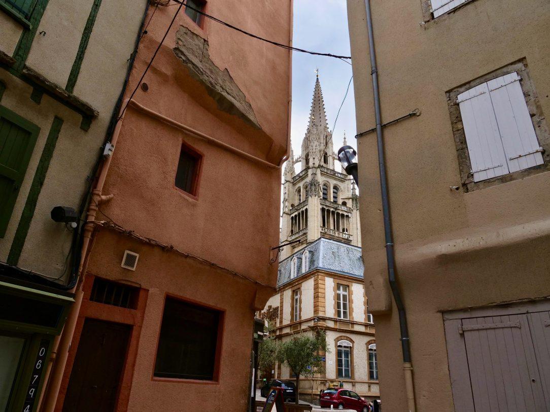 La cathédrale de Mende et sa grande tour