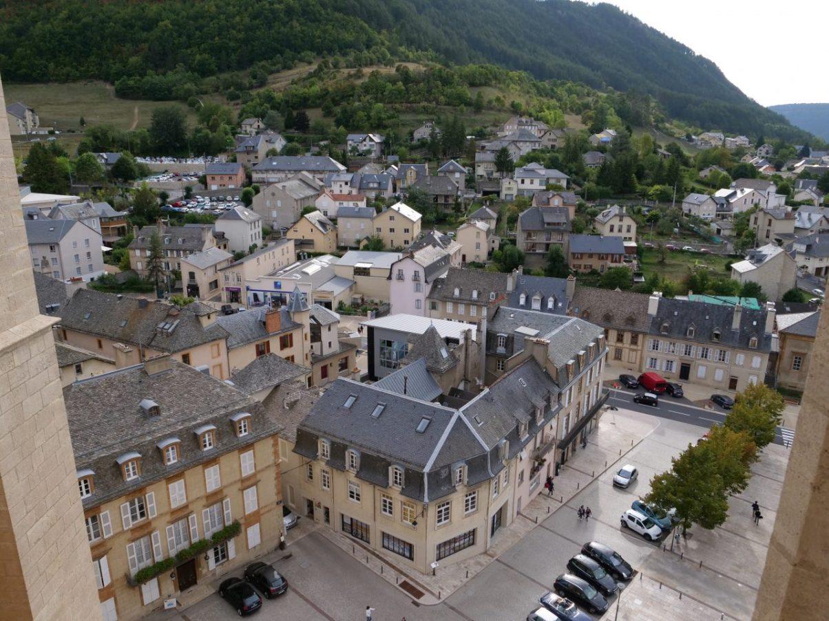 Le centre ville de Mende