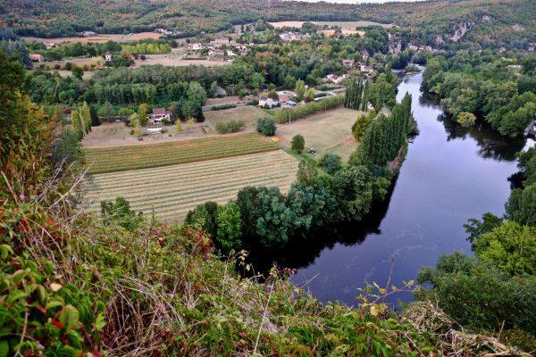 La vallée du Lot depuis Saint-Cirq-Lapopie