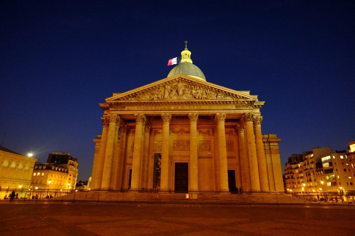 Le Panthéon au coeur du V ème arrondissement de Paris